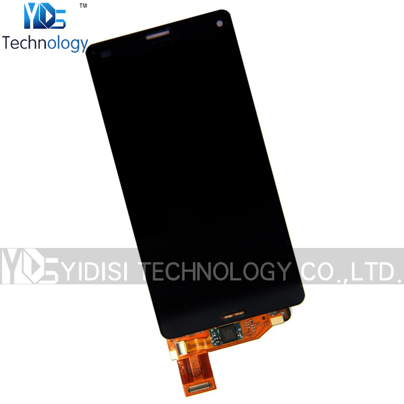 ФОТО 1PCS Original Assembly for Sony Z3 Compact Z3 mini LCD Screen Display with Digitizer Touch Screen Replacement White/Black