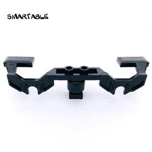 Smartable Train Wheel Frame Parts Building Block Toy For Boy Education Creative Compatible Major Brands City Train 2871 5pcs/set(China)