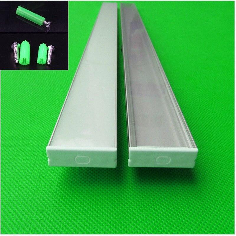 canal de aluminio m led strip 5730 led 02