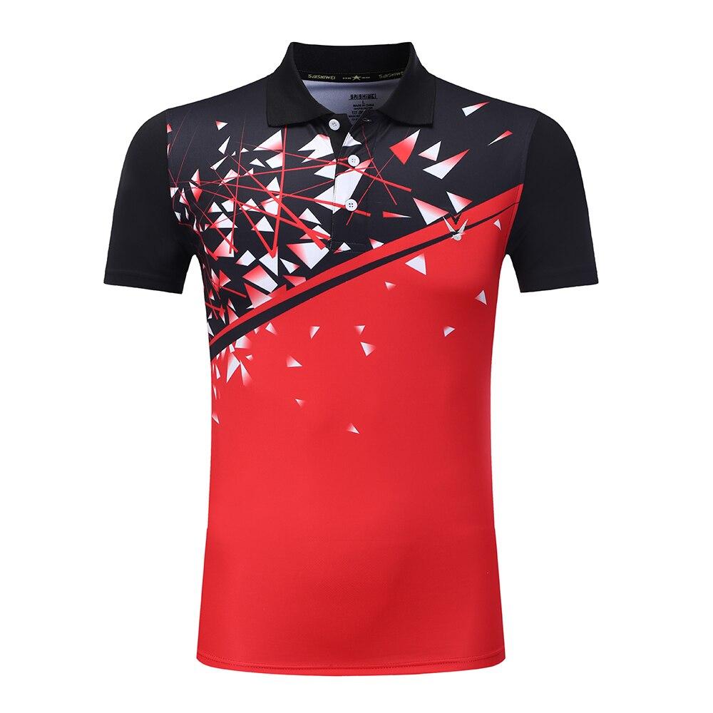 Free Custom Badminton Shirt Menwomen Tennis Wear Dry Cool Shirt