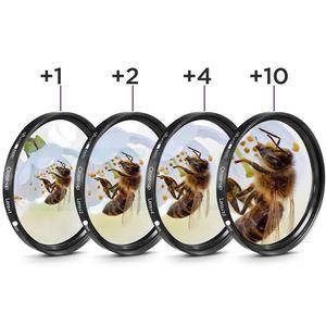Image 5 - Accessories kit Half Body Leather Case + Filter set + Lens Hood + Lens Cap + Glass LCD Protector for Nikon P1000 Digital Camera