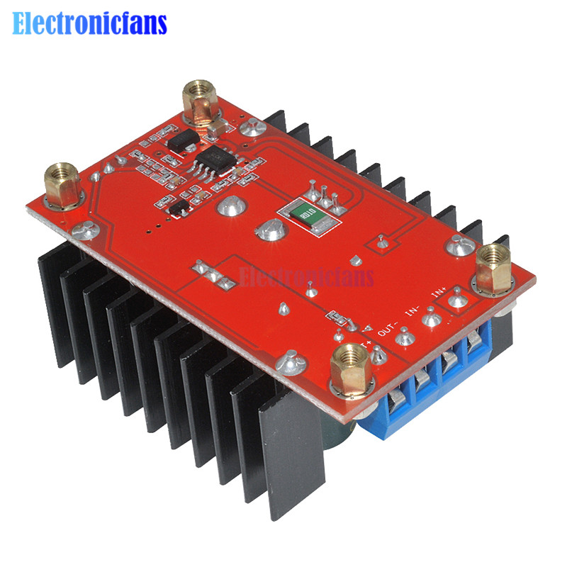 Image 3 - 150W DC DC Boost Converter Step Up Power Supply Module 10 32V To 12 35V 10A Laptop Voltage Charge Board For Arduino-in Integrated Circuits from Electronic Components & Supplies