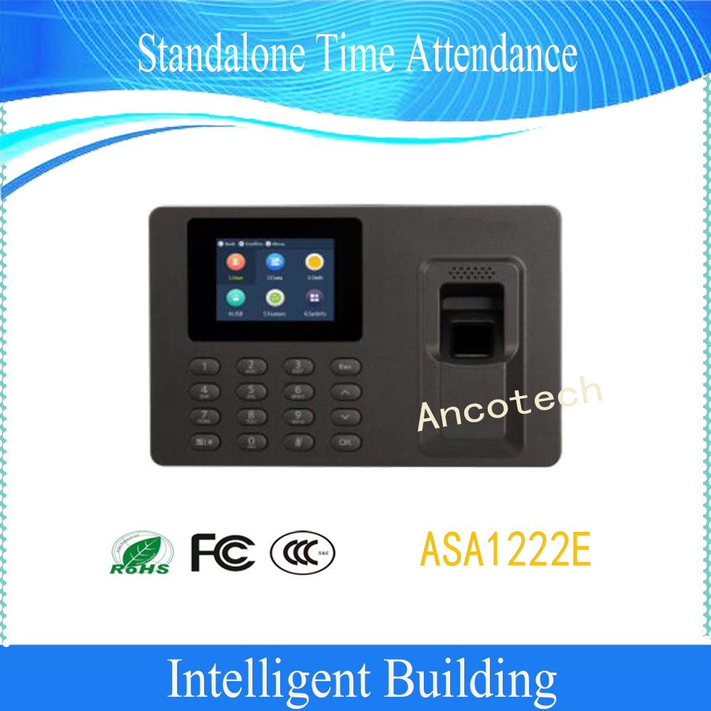 Free Shipping DAHUA Access Control Standalone Time Attendance 2.4 inches TFT screen Without Logo ASA1222E free shipping zkteco iface302 face time attendance access control with wifi function