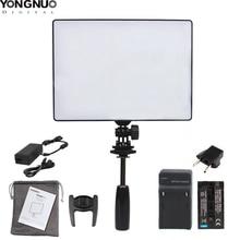 YONGNUO luz LED para cámara de vídeo YN300 Air YN 300 Pro, luz de Fotografía + adaptador de corriente CA, batería opcional
