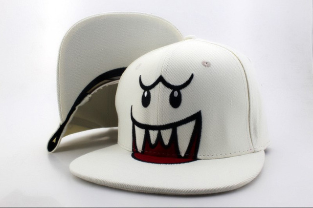 bef6a6fc86b28 Fashion cartoon snapback hats Plants vs Zombies Zombie Big Face spongebob  hip hop cap DOMO Nickelodeon