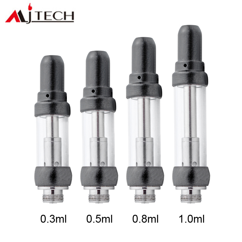 10pcs/Lot  Custom Logo Vaporizer Pen A12 Tank 1.5Mm Oil Hole Various Color 11.5Mm Cartridges 510 Ceramic Coil 1.8Ohm Thick
