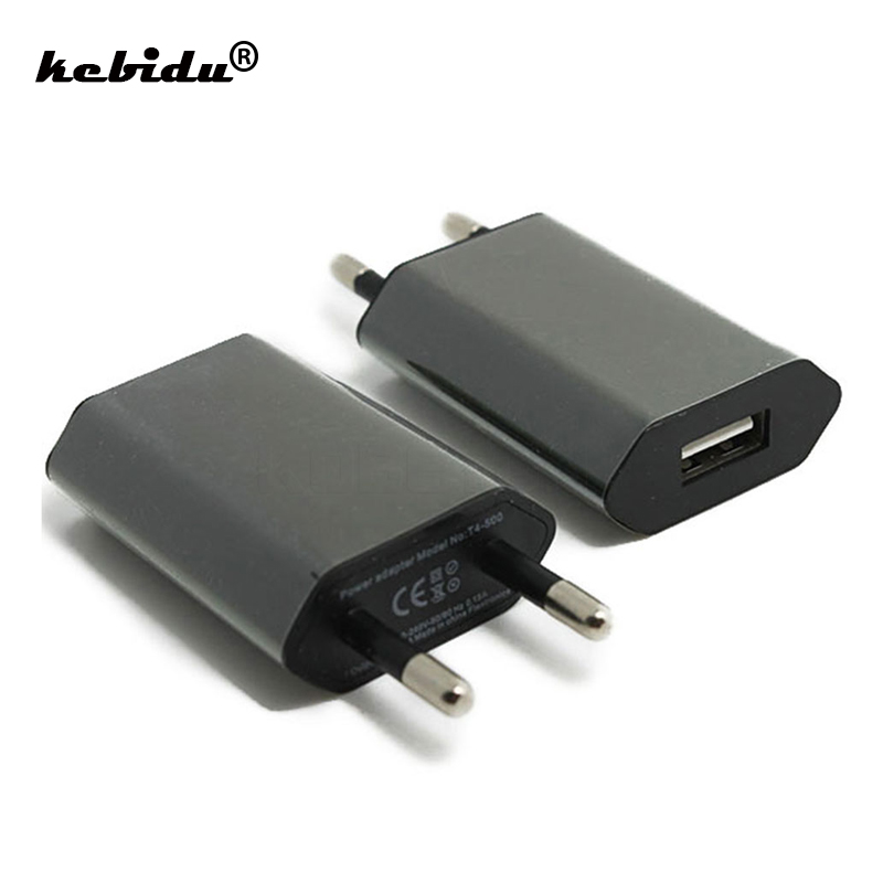 kebidu USB Charger 5V AC Wall USB Home Travel Power Adapter For Apple iPhone 5 5S 5C 6 6S 7 For iPhone USB Charger EU/US Plug