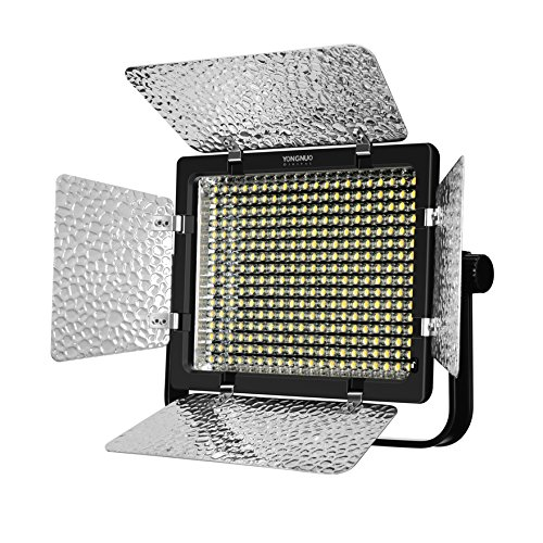 YONGNUO YN320 Photo Studio LED Panel Video Light with Stand Holder High Brightness Video Light for Canon Nikon DSLR Camera-in Photographic Lighting from Consumer Electronics    2
