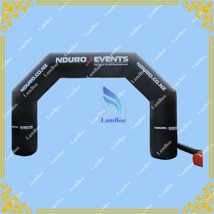 Grande arche gonflable PVC de 6.5 mètres de haute qualité pour les événements, arche de sport gonflable, arche de ligne de départ gonflable livraison gratuite