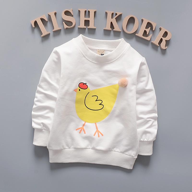 HTB1R4AhQFXXXXb0XpXXq6xXFXXXE - (1piece /lot) 100% cotton 2017 Cute The chicken baby outerwear 0-3 year old