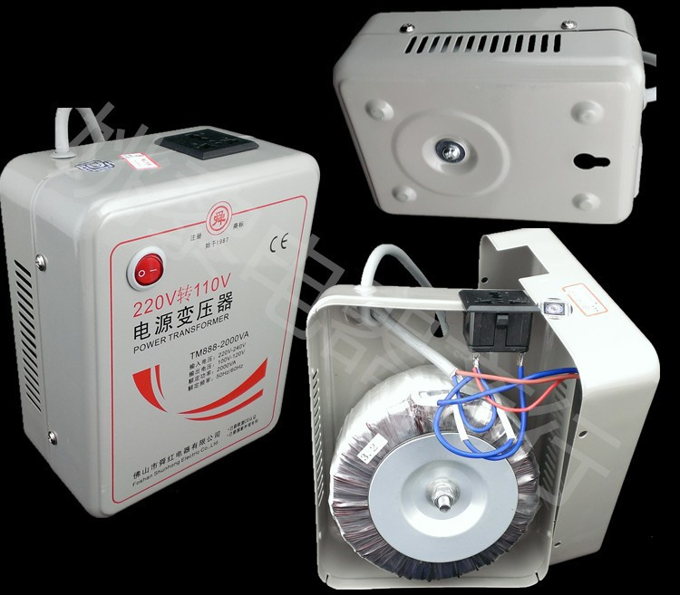 цена на 2000W 110V to 220V or 220V to 110V Transformer Power Converter amplifier transformer Voltage Converter