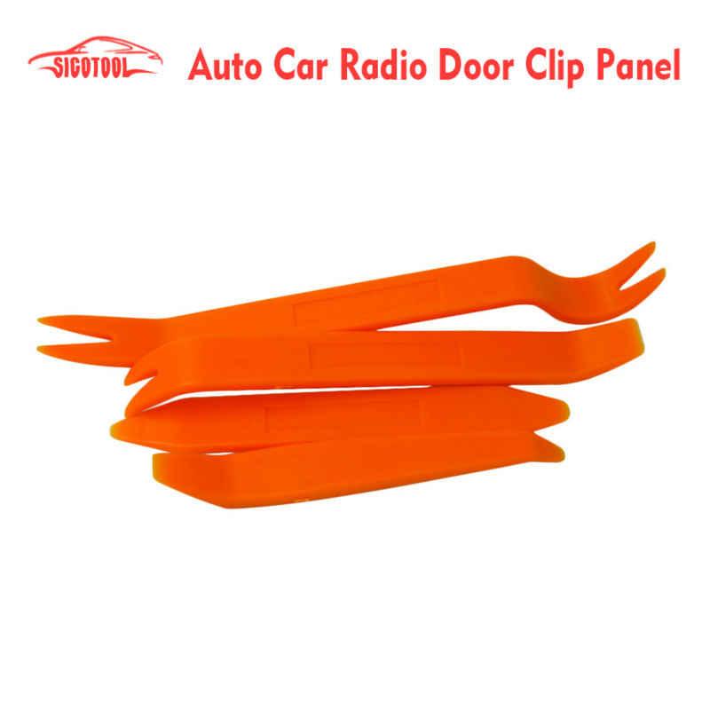 4pcs 1 color Auto Car Radio Door Clip Panel Trim Dash Audio Removal Installer Pry Tool tools styling