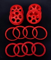 high strength nylon wheel hub And rim kit for 1/5 hpi baja 5b rc car parts
