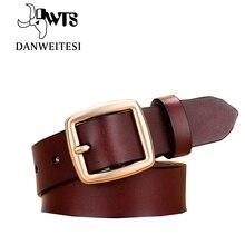 [Dwts] ремень женский пояса из натуральной кожи ремни для женщин дизайнерские бренды люксовые ceinture femme cinturon mujer женский пояс