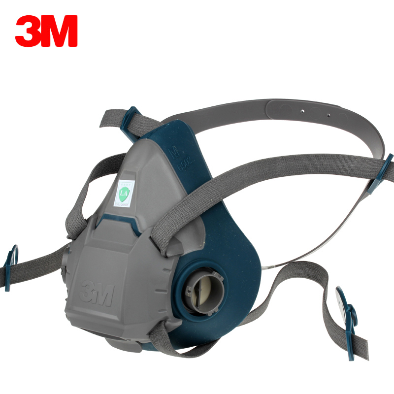 3M 6502 Respirator Mask Comfort Half Facepiece High Quality Silicone Face Gas Mask For Painting Spraying Reusable Respirators punk style pure color hollow out ring for women