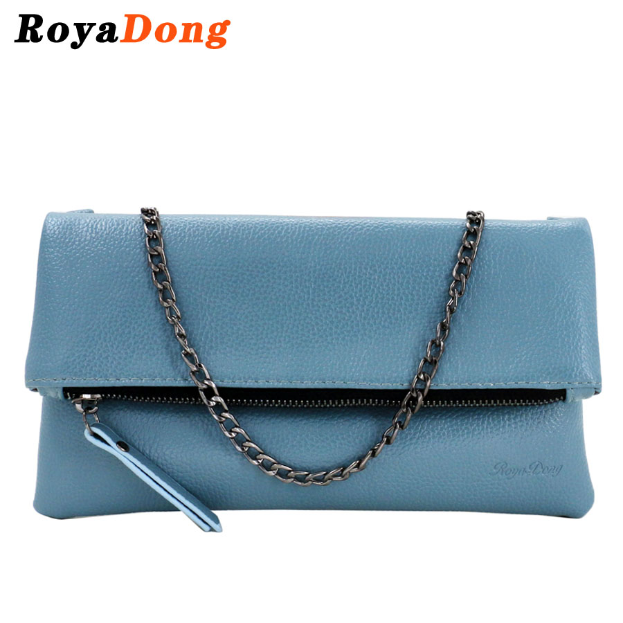RoyaDong 2017 New Women Messenger Bags Pu Leather Women Clutch Envelope Bags Designer Small Crossbody Bags For Women