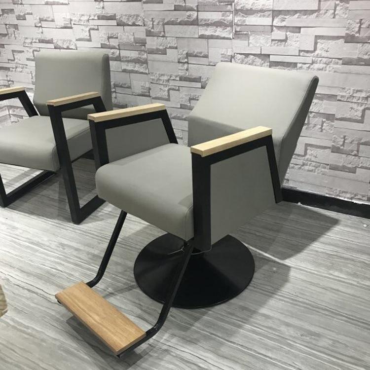 Barber Chair Simple Barber Chair Modern Barber Chair Hair Salon Special Hair Chair For Hair Salon.