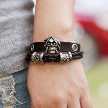 Viking Leather Bracelet
