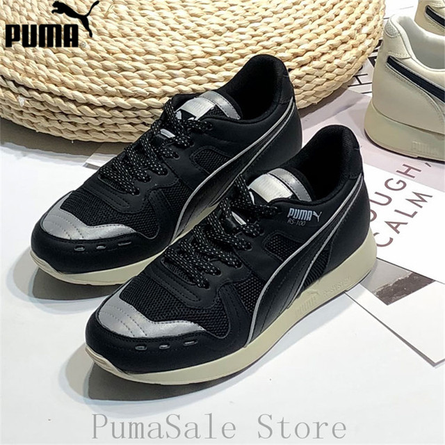 c63be454fdb US $78.99 17% OFF 2019 PUMA x ADER ERROR RS 100 Men Women Shoes Retro Trend  Couple Sneaker Hot Sale Low Top Badminton Shoes Size 35 44-in Badminton ...