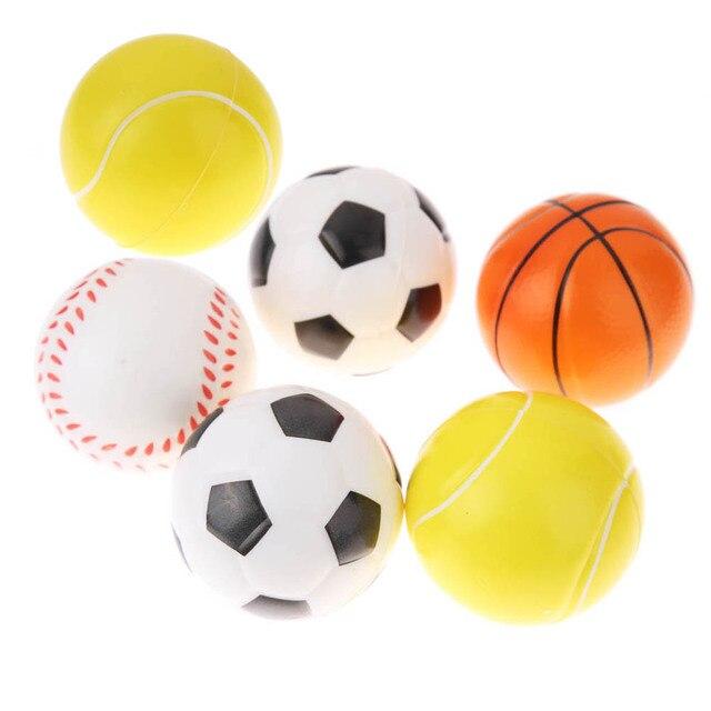 6 قطعة/المجموعة قطرها 6.3 سنتيمتر الكرة القط اللعب لعب مضغ حشرجة الصفر اقبض  تدريب