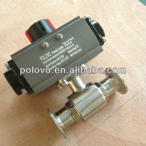 Sanitary food grade 3-piece full port ball valve 100g vitamin e food grade usa imported