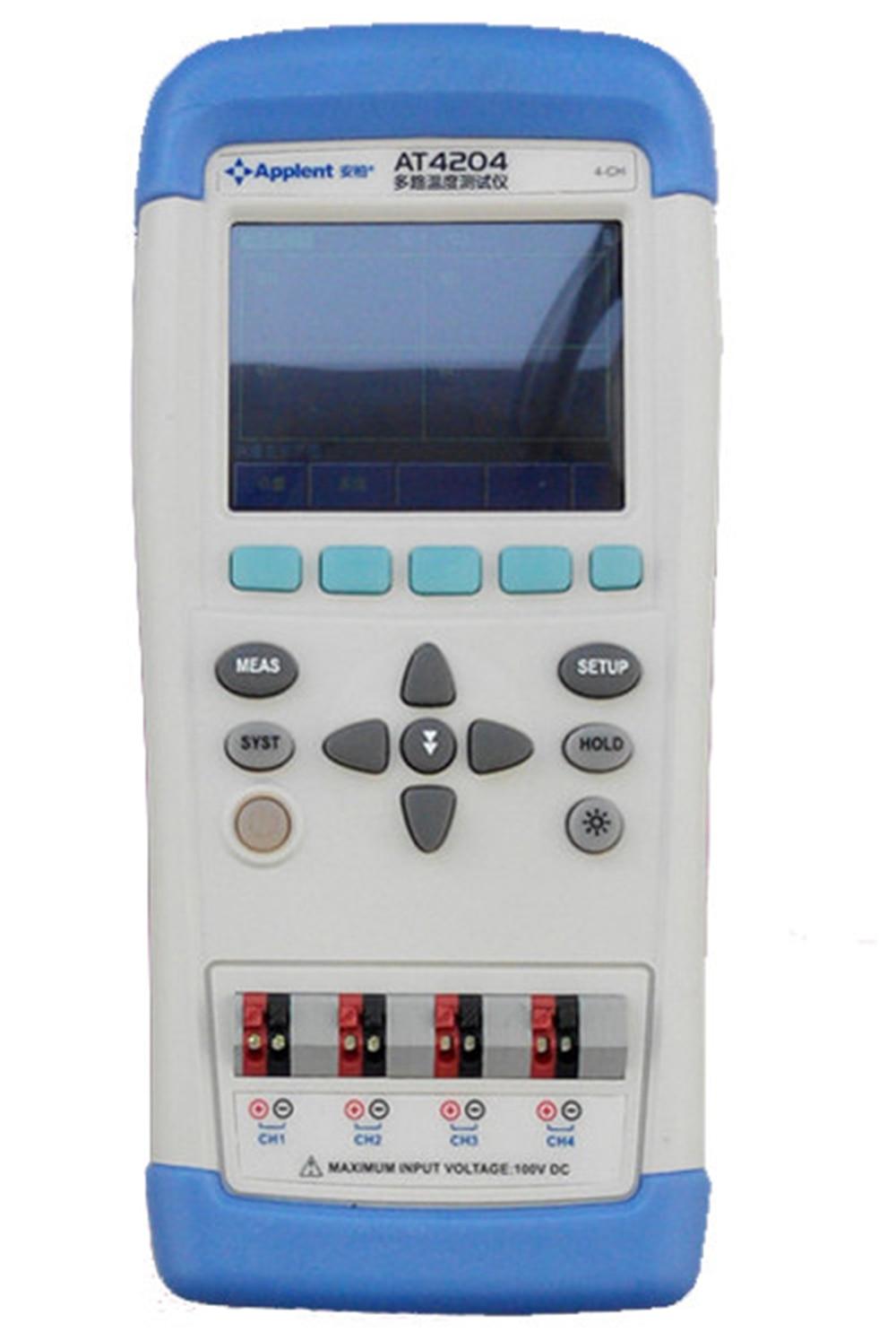 Daugiakanalis termometro termoelementas J / K / T / E / S / N / B TFT skystųjų kristalų ekranas su jutikliniu ekranu USB Li-akumuliatoriaus nešiojamasis temperatūros matuoklis