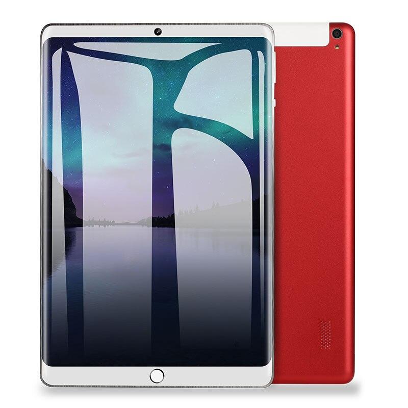2019 nouveau 10.1 tablette PC Android 8.0 Support Google Play 3G appel Octa Core 1.5 GHz 64 GB Wi-Fi Bluetooth GPS Super Eetal tablette PC