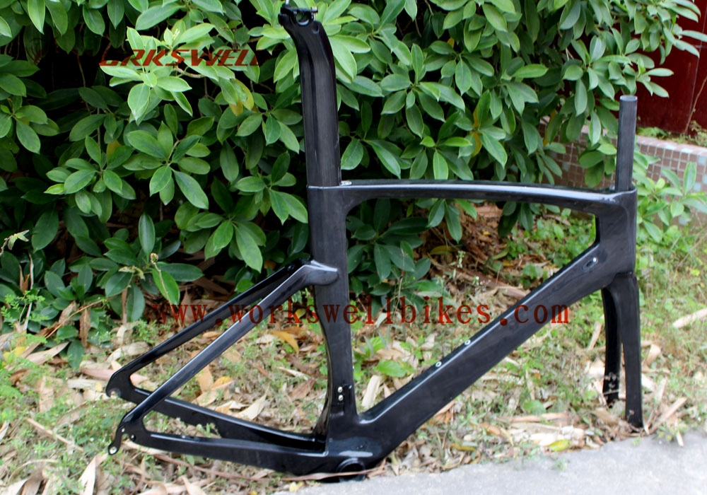 cheap carbon frame road bike 2015 road bicycle tt frame ud carbon weavechina