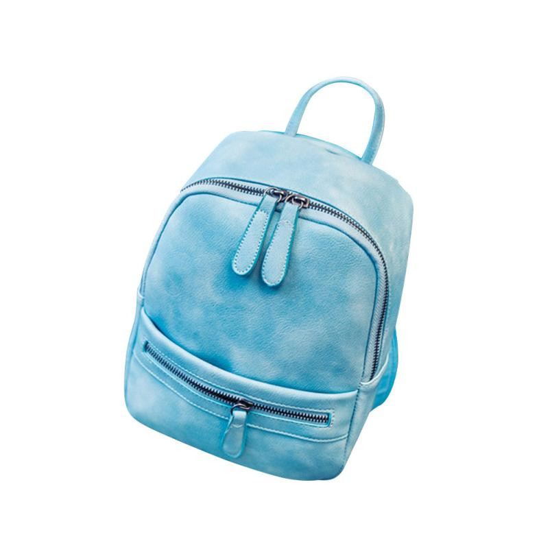 Soft PU Leather Backpack Casual Female for Teenage Girls Backpack School Bag Backpacks Preppy Style Backpacks Mini Rucksack#24 Рюкзак