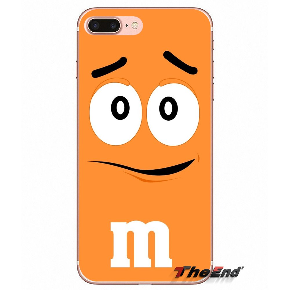 Cute M&M's Chocolate Nutella Bottle Case For Xiaomi Redmi 4 3 3S Pro Mi3  Mi4 Mi4i Mi4C Mi5 Mi5S Mi Max Note 2 3 4