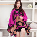 2017 Top Fashion Promotion Geometric Adult Faux Female Autumn And Winter Cloak Cape Outerwear Dual Placketing Large