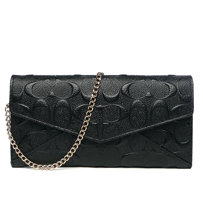 Celebrity Clutches Banquet Hand Clutch Bag Women Genuine Leather Wallet Shoulder Bag Evening Wristlets Crossbody Bag Handbag 2017 women bag cowhide genuine leather fashion folding handbag chain shoulder bag crossbody bag handbag party clutch long wallet