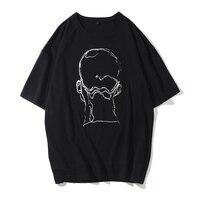 2018 New MenT Shirt Trend Printing Mens Cotton Short Sleeve T Shirts Men Summer Casual T
