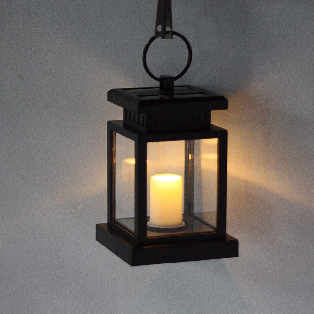 Hanging Candle Lanterns Flower Tower Lantern Wedding: Cheapest Light Candle Lantern Solar Power LED Lamp Bulb