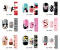 1Pc NEW 14 Tips Nail Art Full Cover Nail Stickers Mickey Minnie Mouse Cartoon Decal Manicure QJ1042-1056