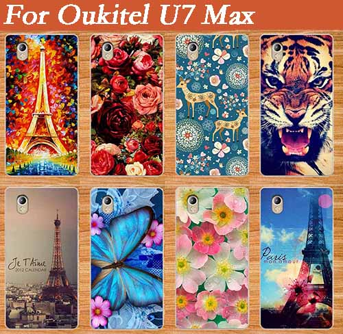 "Për Oukitel U7 Max Cases, 2017 New Arrival Diy UV Painting Colour Soft Soft Tpu Case For Oukitel U7 Max 5.5 ""Qese telefonike me kapak silikoni"