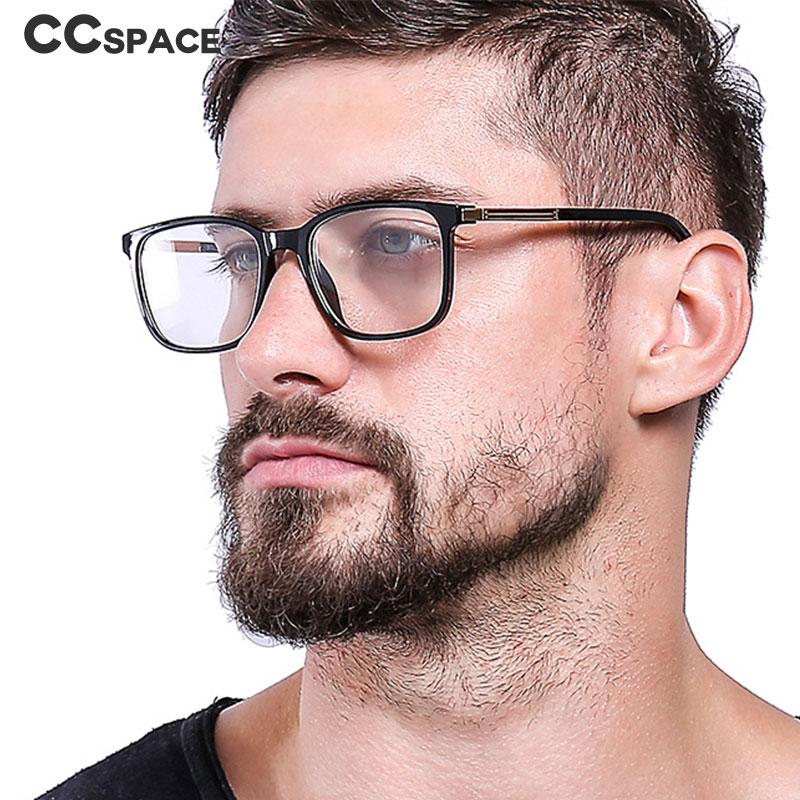 45804 TR90 Retro Square Glasses Frames Men Women Optical Fashion Computer Glasses