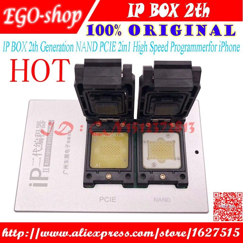 2018 Box IP 2 il Più Nuovo BOX IP V2 Ad Alta Velocità Programmatore NAND PCIE Programmatore per il iphone 4 s 5 5C 5 s 6 6 p 6 s 6SP 7 7 p