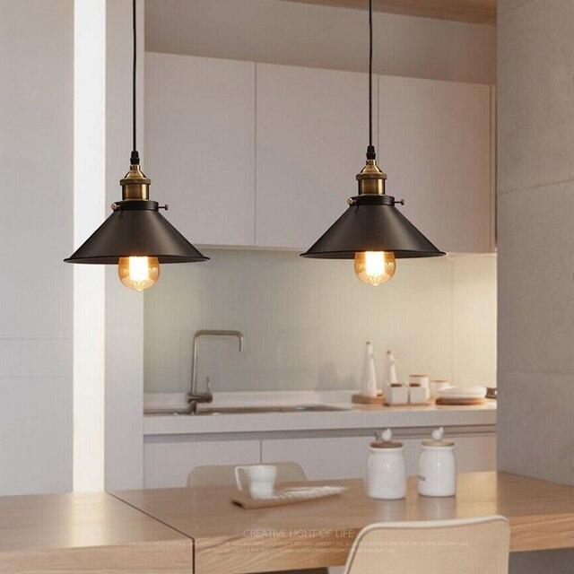 Lampade a sospensione vintage industrial retro lampade for Lampada ristorante