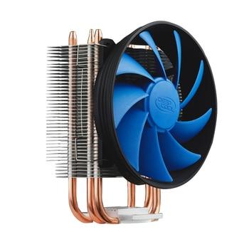 Deepcool Gammaxx 300 CPU Cooler 3 Heatpipe 120mm PWM Fan INTEL LGA1156/1155/1151/1150/775 AMD AM2/3 CPU Fan Heatsink цена 2017