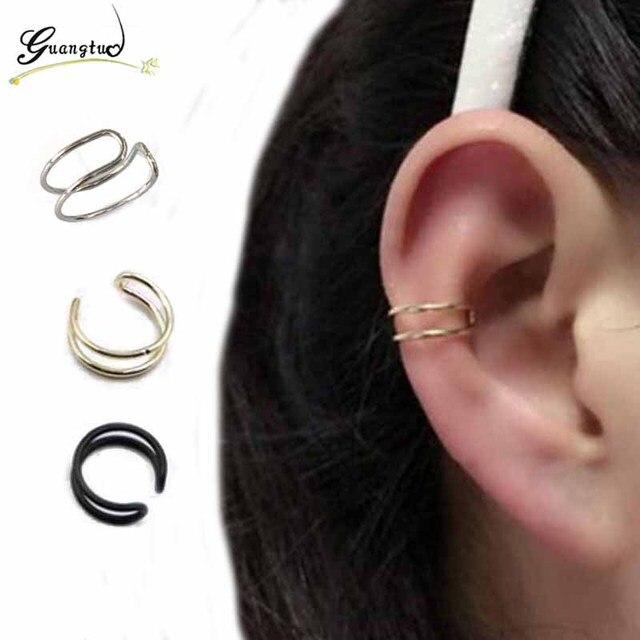 mode u forme boucles d 39 oreilles clip sans piercing pas perc clip oreille de mode bijoux. Black Bedroom Furniture Sets. Home Design Ideas