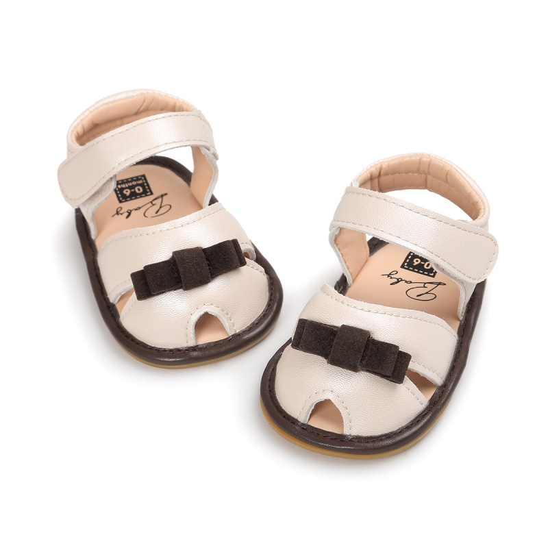 2017 Summer baby Cool PU leather sandals Toddlers Children Kids Shoes Girls Skidproof Baby Girls Butterfly Sandals for 0-18M