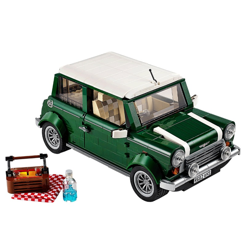 New 21002 Ideas series the MINI Cooper model Building Blocks Compatible 10242 Classic Technic Car-styling Toy Children Gift new lp2k series contactor lp2k06015 lp2k06015md lp2 k06015md 220v dc
