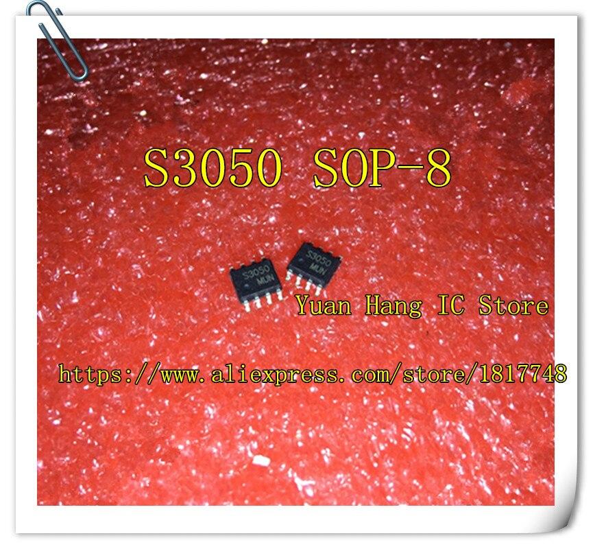 10PCS SEM3050 S3050 SEM SOP-8 cristal Líquido IC original Novo