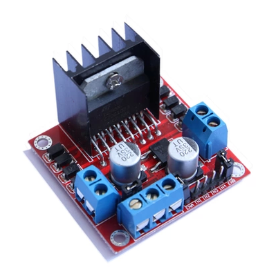 1pcs New Dual H Bridge DC Stepper Motor Drive Controller Board Module L298N MOTOR DRIVER l298n motor driver module dc stepper motor vehicle intelligent robot