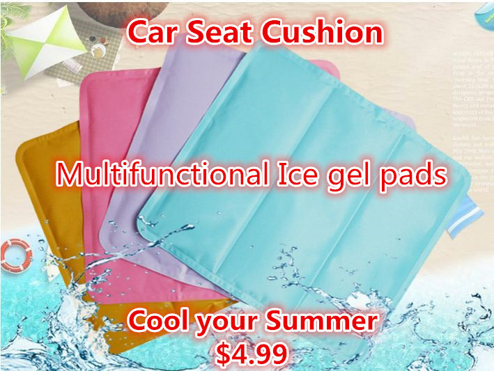 Ice gel cushion
