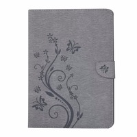 For Galaxy Tab A 8 0 T350 Ultra Slim Flower Print PU Leather Case Cover For