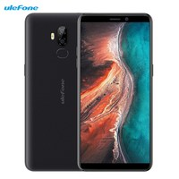 Ulefone P6000 Plus 4G Smartphone 6 inch Android 9.0 MT6739WW Quad Core 3GB RAM 32GB ROM 13.0MP+5.0MP 6350mAh Mobile Cellphones
