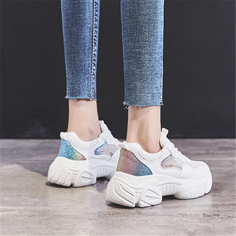 new arrive women shoes breathable women sneakers air mesh Comfortable breathable Platform Woman Sneakers Ladies Trainers