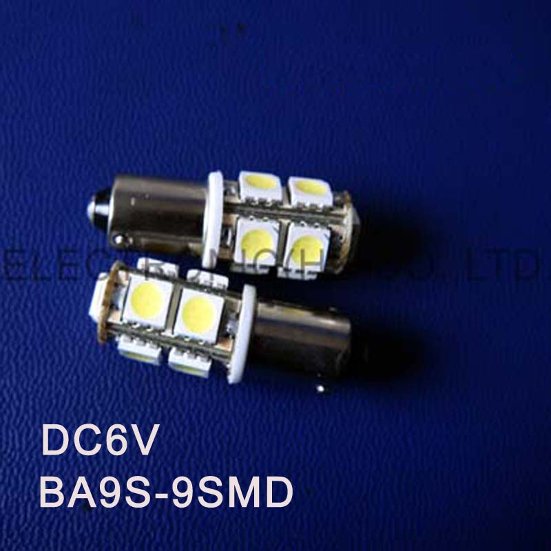 High quality DC6.3V 6V BA9S Led Warning Signal,Indicating Lamp,Pilot lamp,Instrument Light,pinballs Bulb free shipping 50pcs/lot image